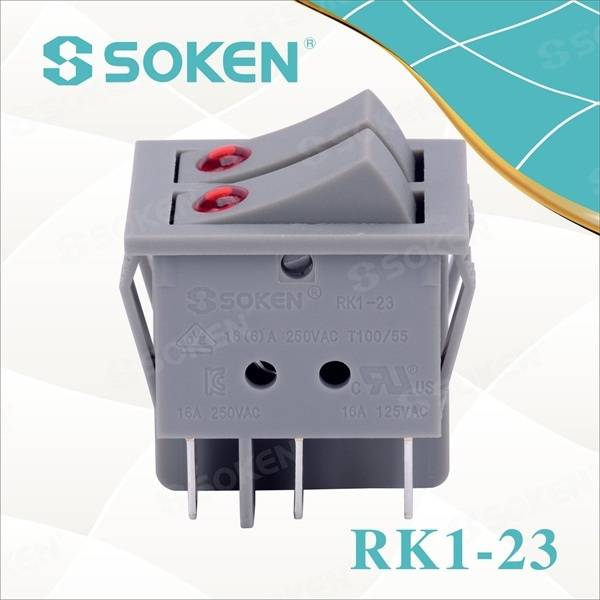OEM China R13-133b Illuminated Rocker Switch -