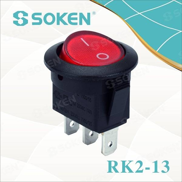 Elektriese Kettles Switch / Defond Mini Rocker Switch Etikette T105