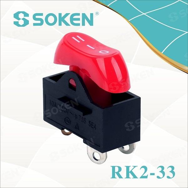Hair Dryer Rocker Switch / Mini on-off-op Switch T85 10A 250VAC