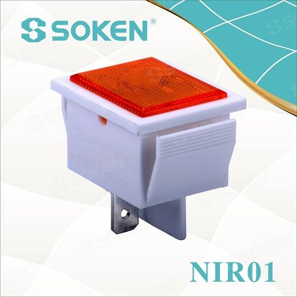 LED/Neon T85 Equipment Indicator Light for Food Machinery