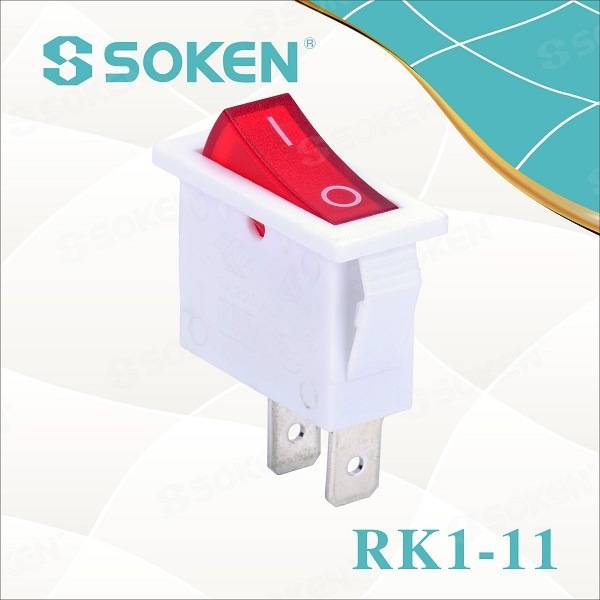 Rk1-11 Home Appliances Electric Lighting on off Rocker Switch T85