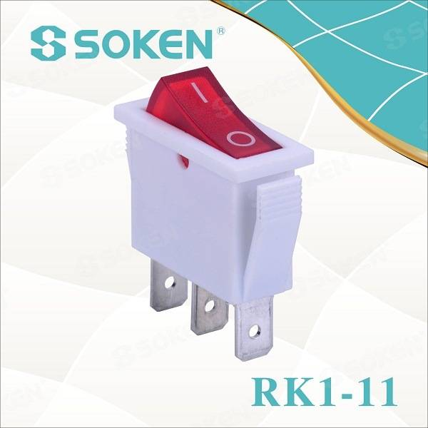 Offer Hafan Rk1-11 Electric Goleuo ar oddi ar Rocker T85 Switch