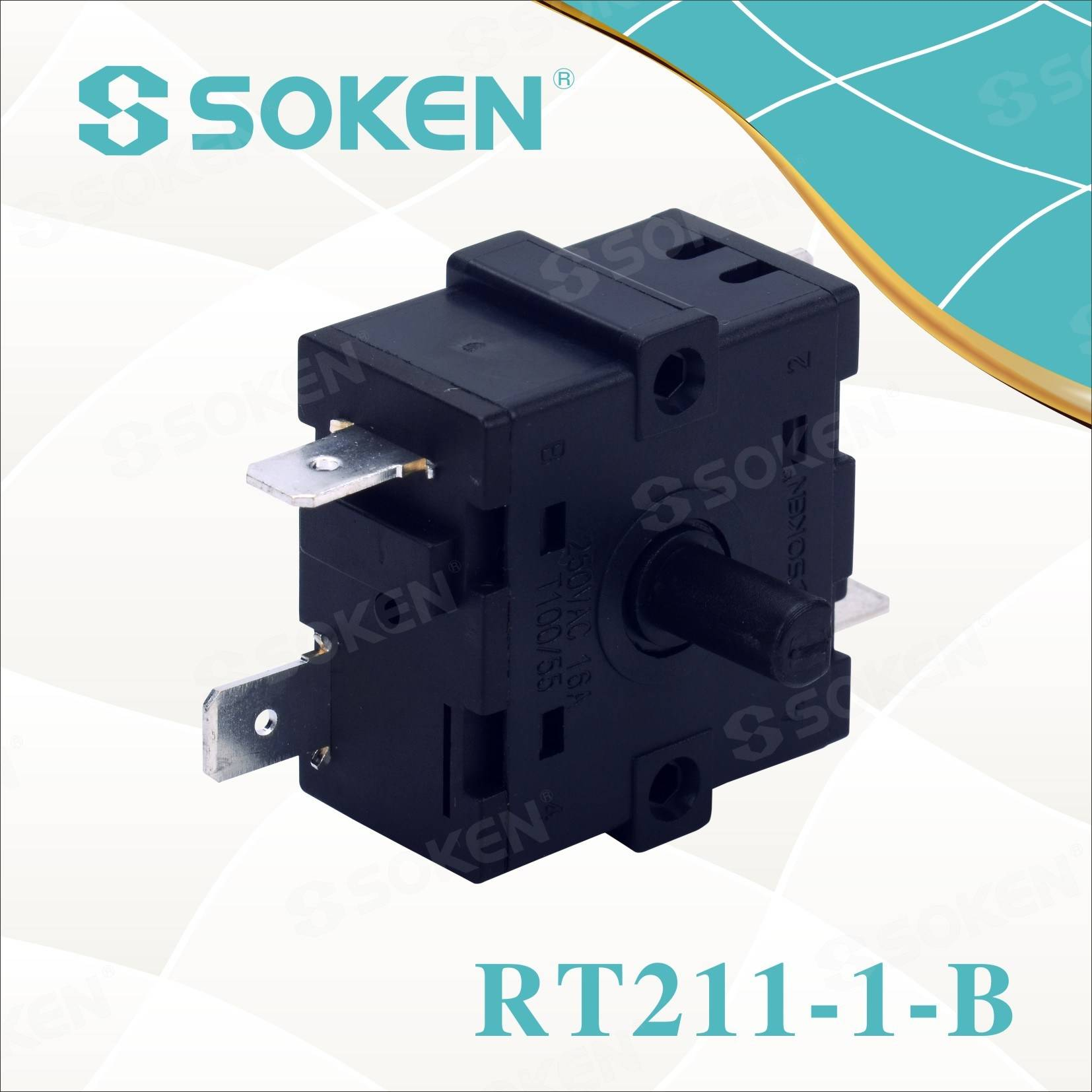 New Arrival China 2 Pole Rotary Switch -