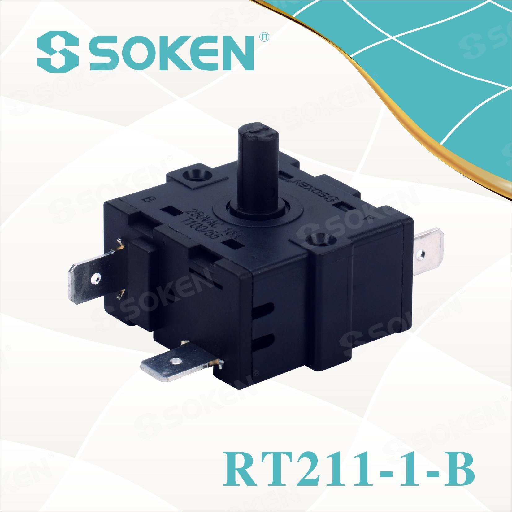 ODM Factory 4pin Rocker Switch -