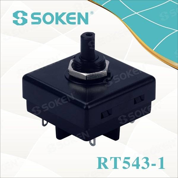 Soken 3 Speed ​​Fan Pēdu Massager Rotary Encoder Switch T85