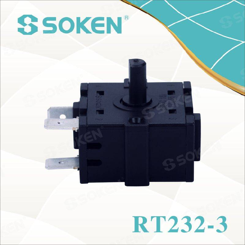 Soken 4 Position Heater Rotary Switch