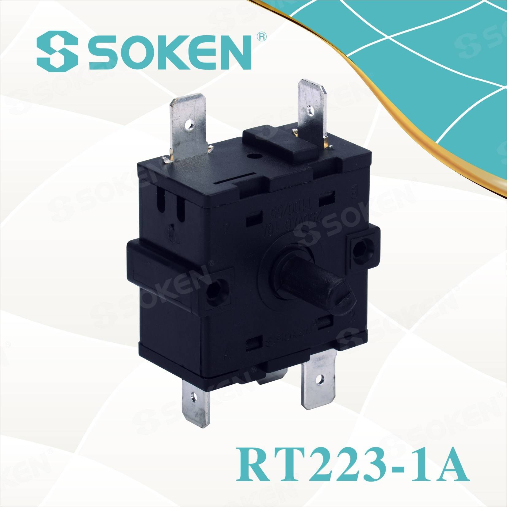 Soken 5 Asta Switch Rotary