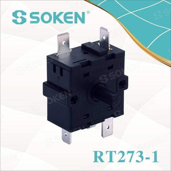 Soken Bremas 8 Position Oven Rotary Encoder Switch 16A 250V