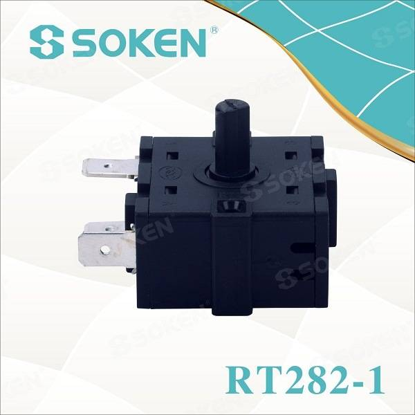 Soken Bremas 9 Position Patio Heater Rotary Encoder Switch 16A