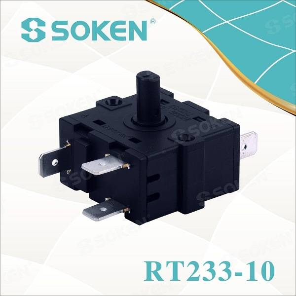 Soken Electric Heater 4 Position Small Rotary Switch 16A 220V