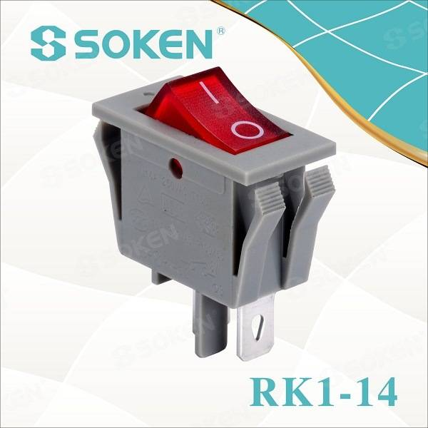 Soken Electrical Rocker Switch Light T85 16A 250VAC