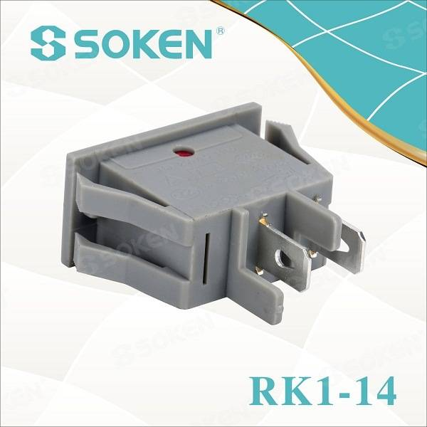 Manufacturer of Round Momentary Rocker Switch -