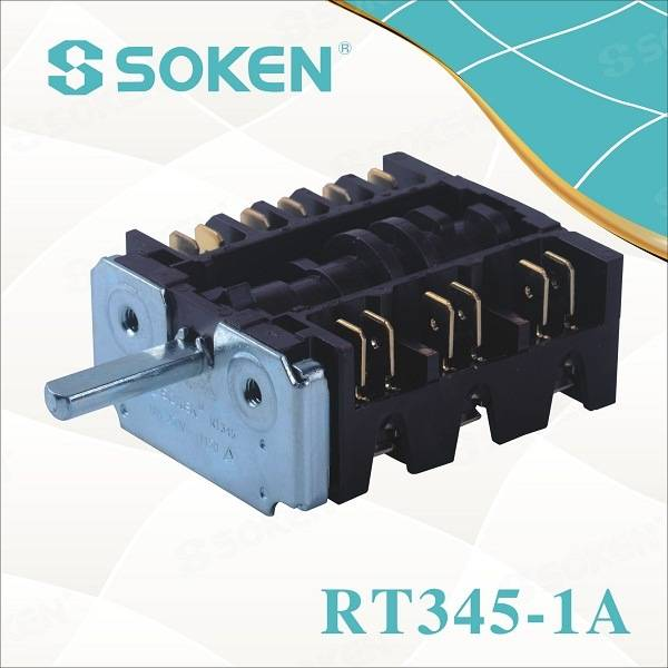 Soken Gottak Style 7 Position Four Rotary Switch 250V