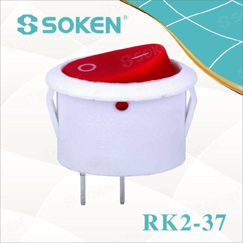Soken Oval Rocker Switch