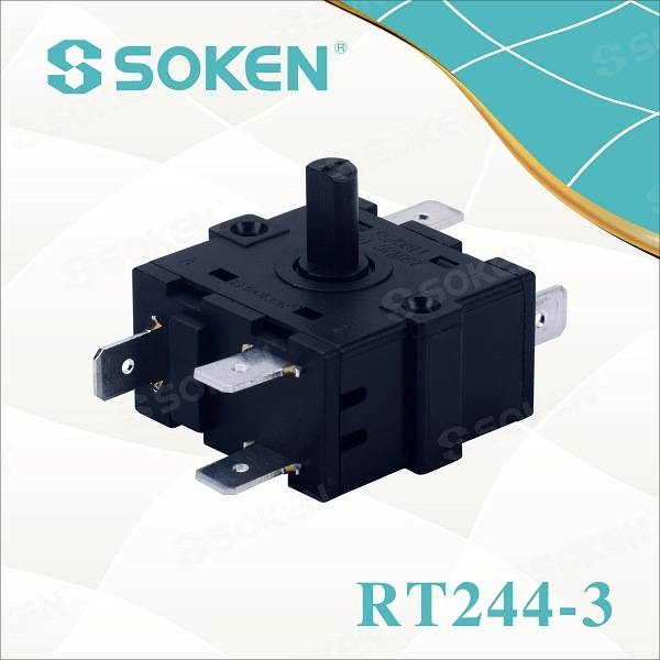 Soken Pedestal Fan 5 Position Rotary Switch 16A 220V T100