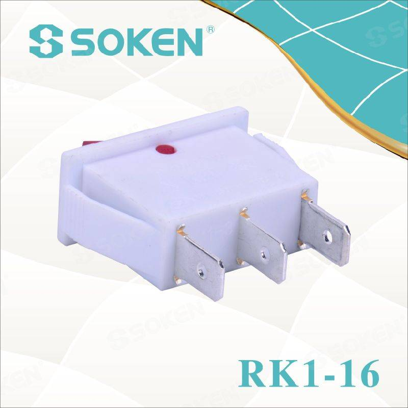 Soken Rk1-16 1X1n W/R on off Rocker Switch