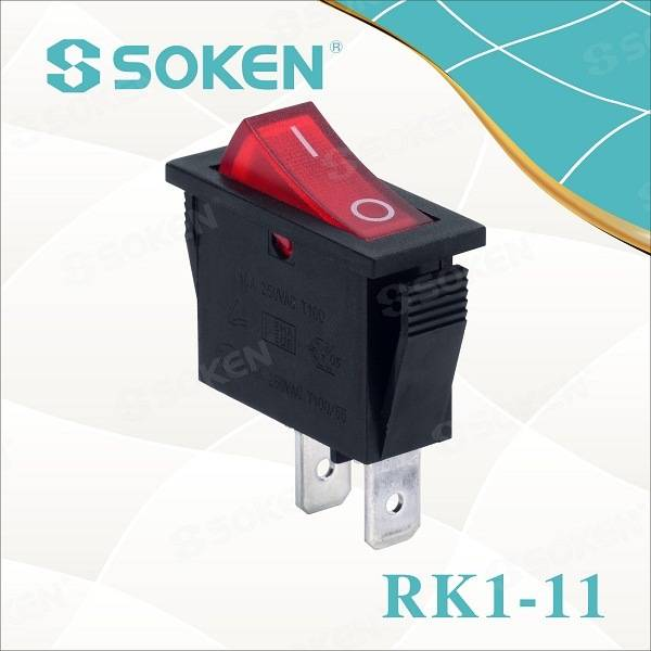 Soken RoHS UL Snap in Rocker Switch T85/Defond Switches