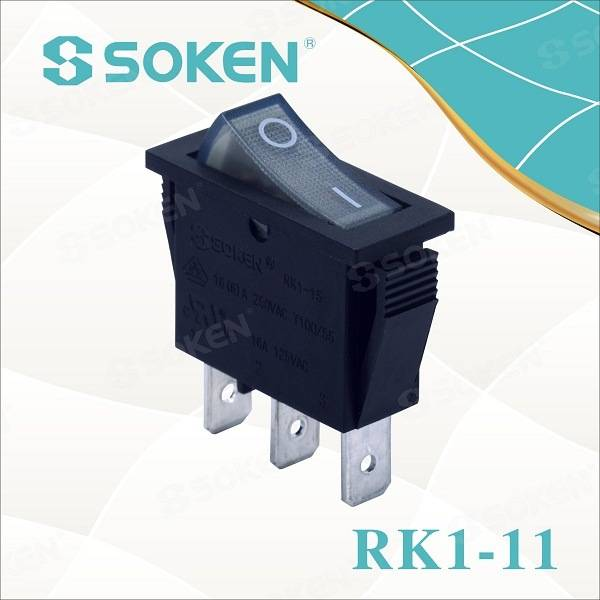 Rocker Switch T85 ilə Soken RoHS UL Snap / Defond Switches