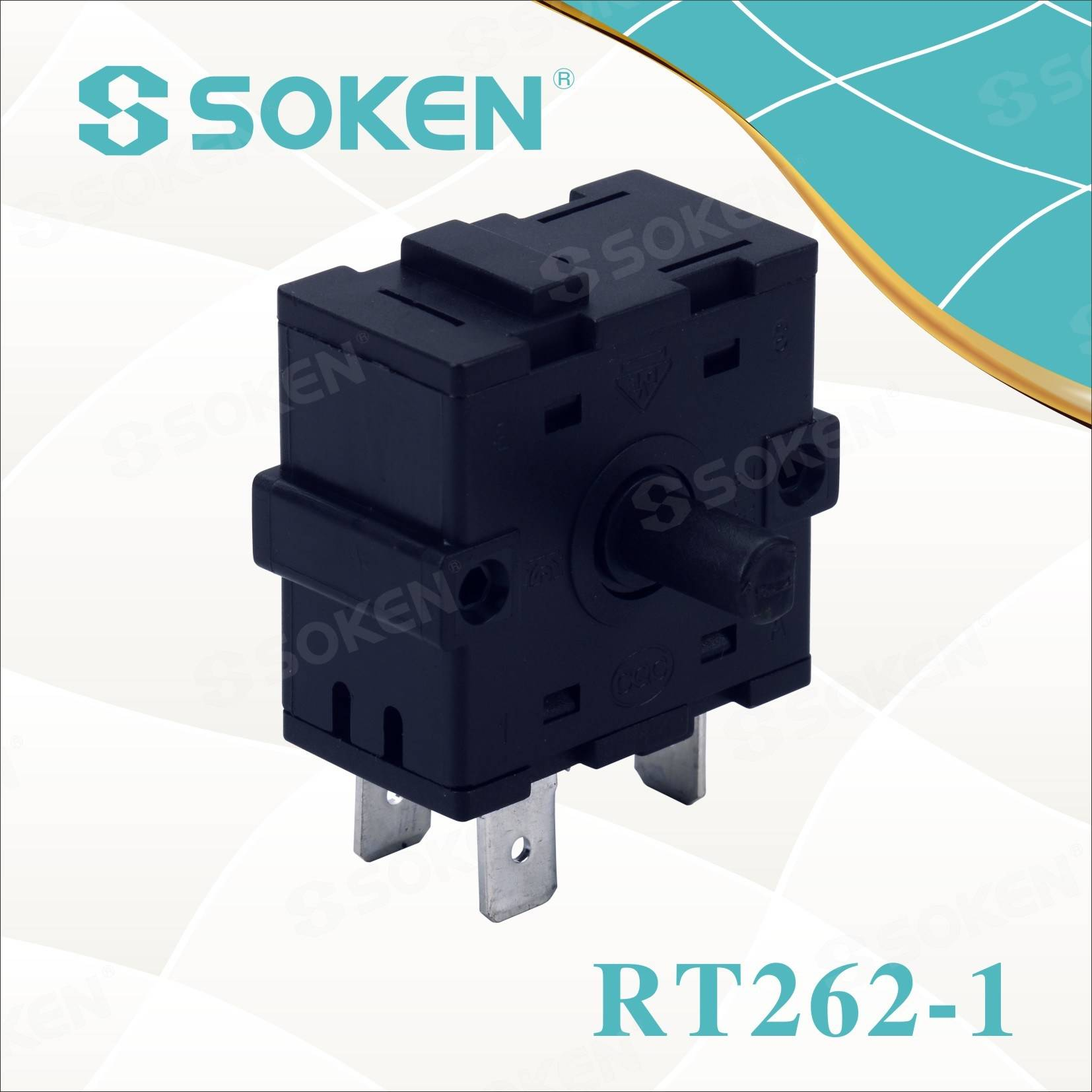 Renewable Design for Plastic Rotary Knob Switch -