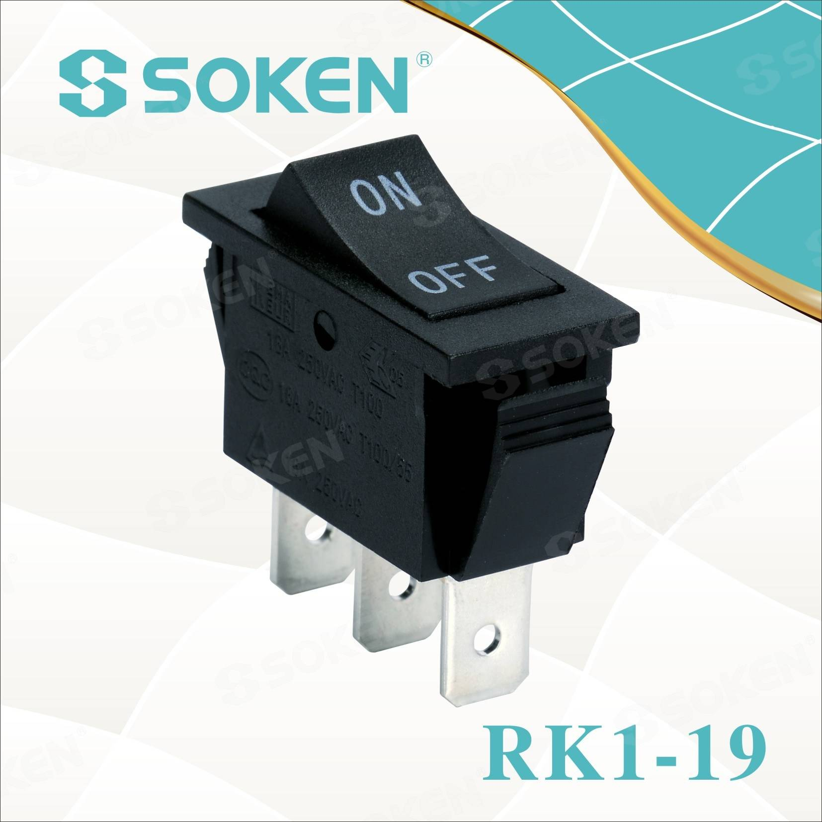 Soken på på Rocker Switch
