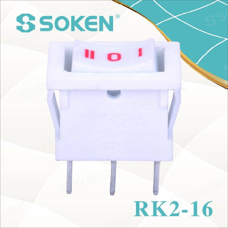 Sokne Rk2-16 1X3 on off on Rocker Switch
