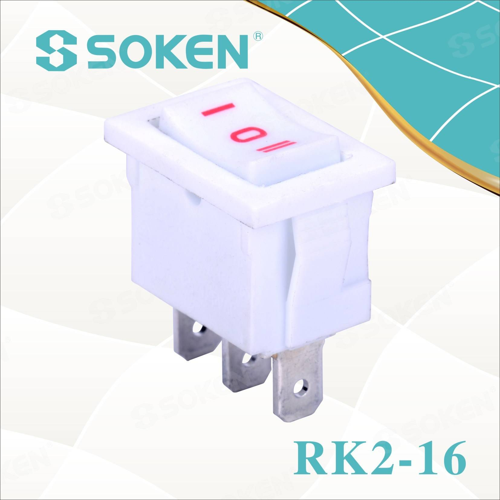 Sokne Rk2-16 1X3 na off na Rocker Switch