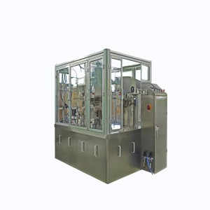 DOUBLE MATERIALS SACHETS PACKING MACHINE CASHEW AND ALMOND SACHET PACKING MACHINE SACHET FILLING PACKING MACHINE