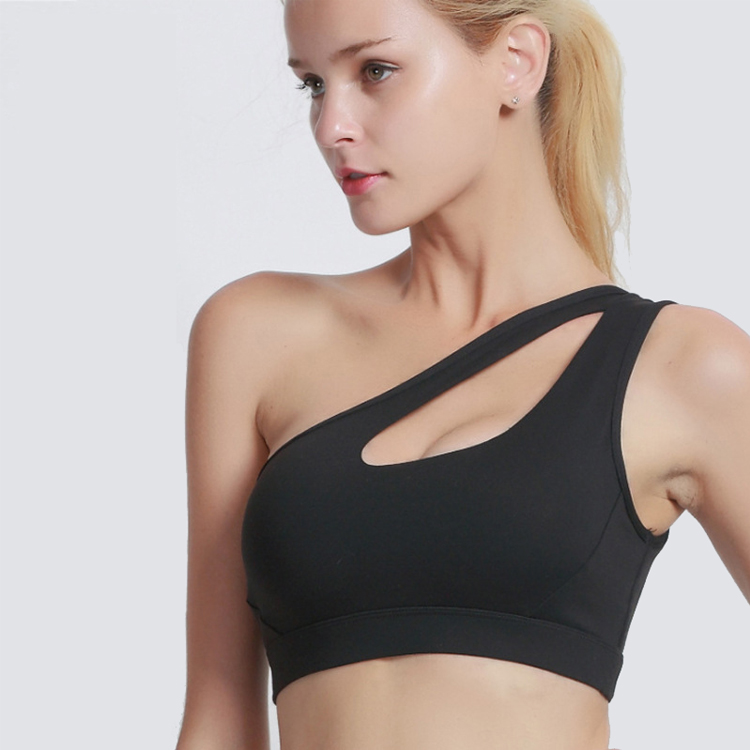 Women's Removable Padded Strappy Sports Bra Yoga Tops Activewear for Women Featured Image