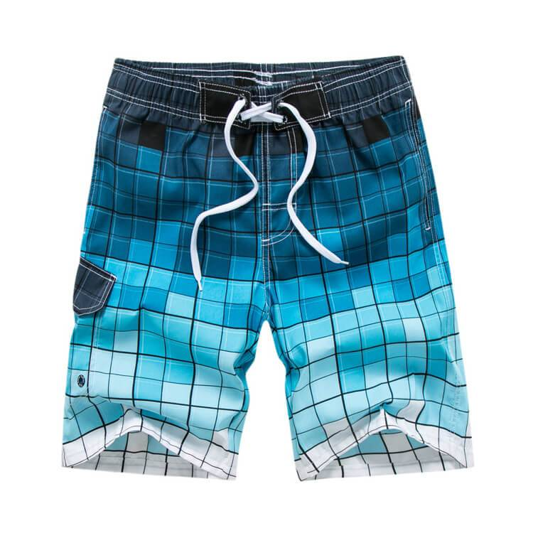 Quick dry comfortable board shorts printed mens custom beach shorts Featured Image
