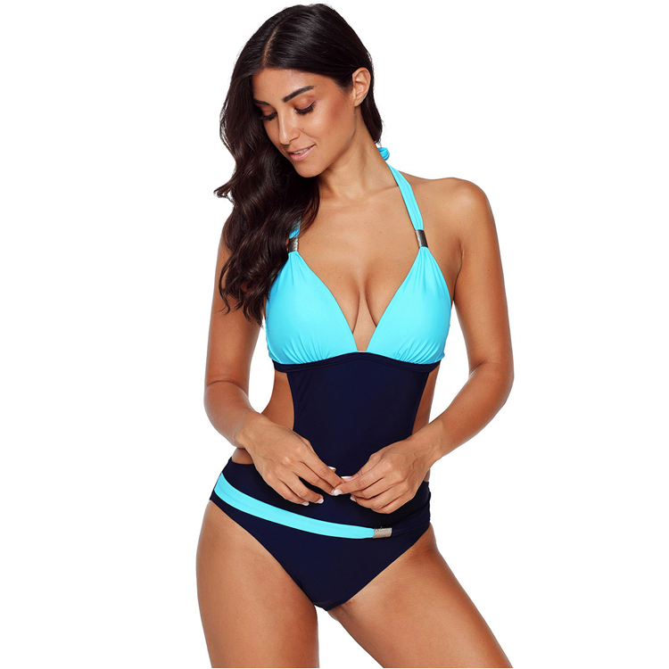 wholesale sexy one piece swimsuit push up swim suit custom women bathing suits Featured Image