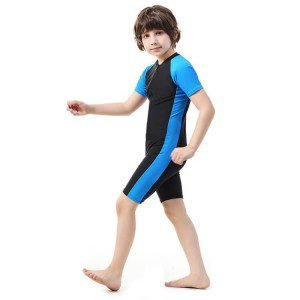 New Arrival cute custom one piece Children's swimwear for boys