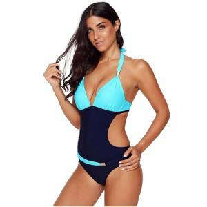 wholesale sexy one piece swimsuit push up swim suit custom women bathing suits