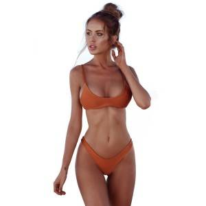 Wholesale brazilian micro swimwear sexy bikini custom printed women swimwear