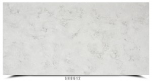Engineering White Artificial Quartz Worktops Slab