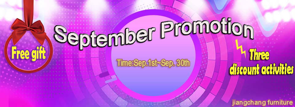 September — sales promotion month!