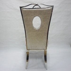 Modern good design stainless steel frame event dining chairs SF-SS12