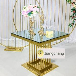 Top Sale Popular Modern Stainless Steel Metal Table SF-SS038