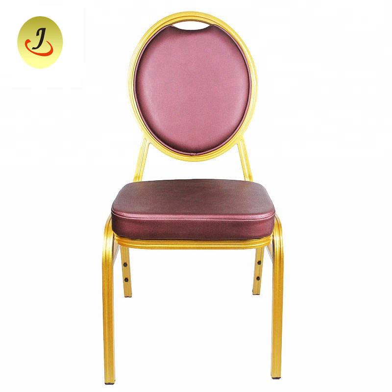 Outdoor Garden Stackable Steel Metal Church Chair Cinema Banquet Dinning Restaurant Iron Chair Iron Furniture SF-011 Featured Image