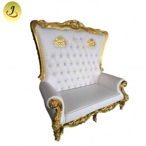 loveseat wooden throne chair SF-K50