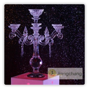 Hot Selling Home Decoration Glass Candle Holder SF-ZT022