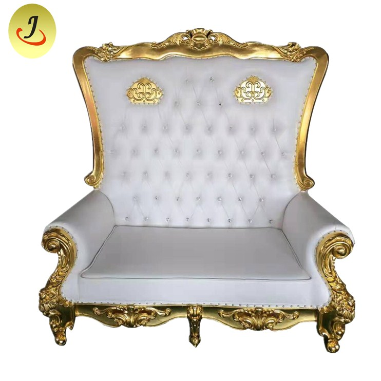 loveseat wooden throne chair SF-K50 Featured Image