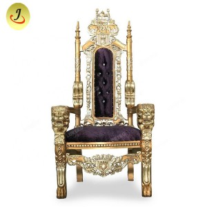 Low Price Wholesale High Back Royal King Throne ChairSF-K028