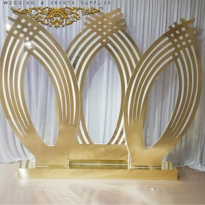 Golden TROVAL Wedding Backdrop SF-BJ05