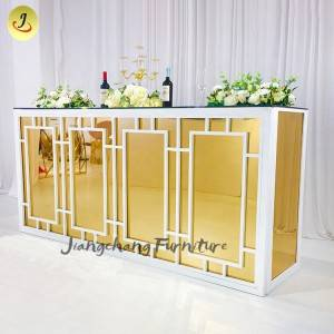 Commercial party bar counter,design vintage cocktail table for restaurant SF-ST10