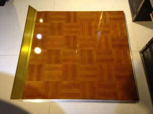 Teak wood dance floor SF-W01