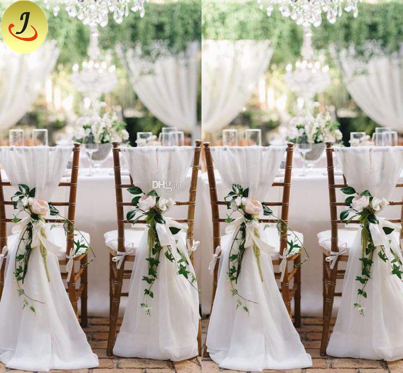 Modern Wedding Popular Exquisite Decoration Lace Chair Cover SF-YZC02 Featured Image