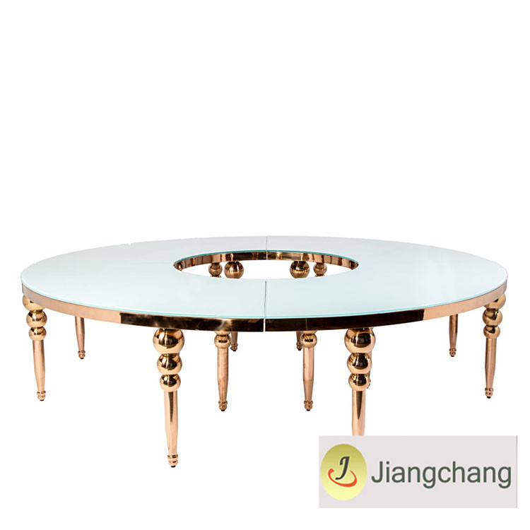 Modern new design free combination dining table SF-SS036 Featured Image