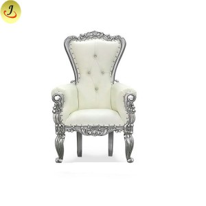 wholesale cheap white luxury high back King throne chair/sofa SF-K032