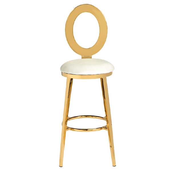 Gold metal bar stool SF-SS20 Featured Image