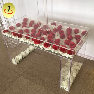 Wedding event furniture clear acrylic wedding table for sale (SF-PT01)